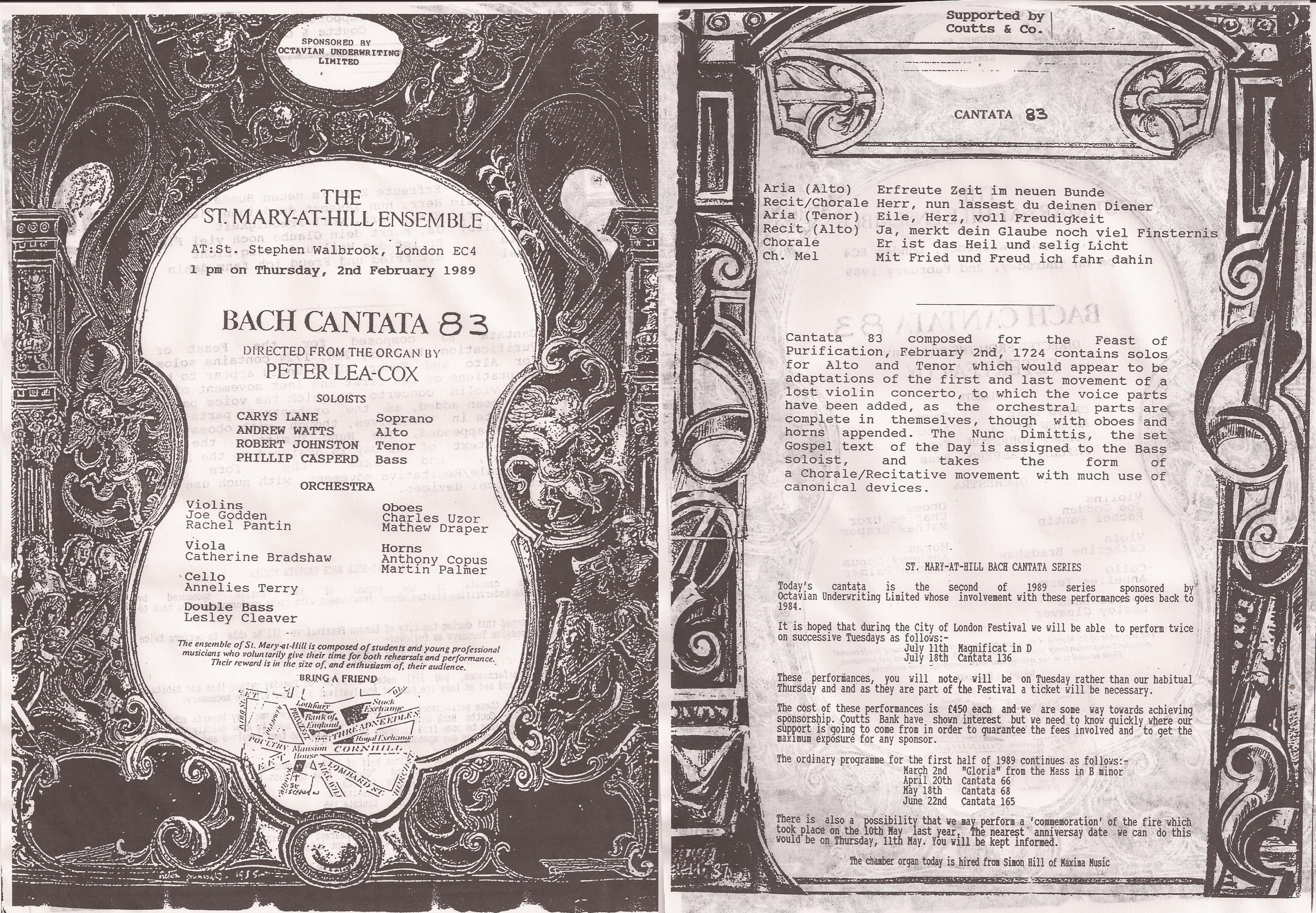 MaH cantata 83