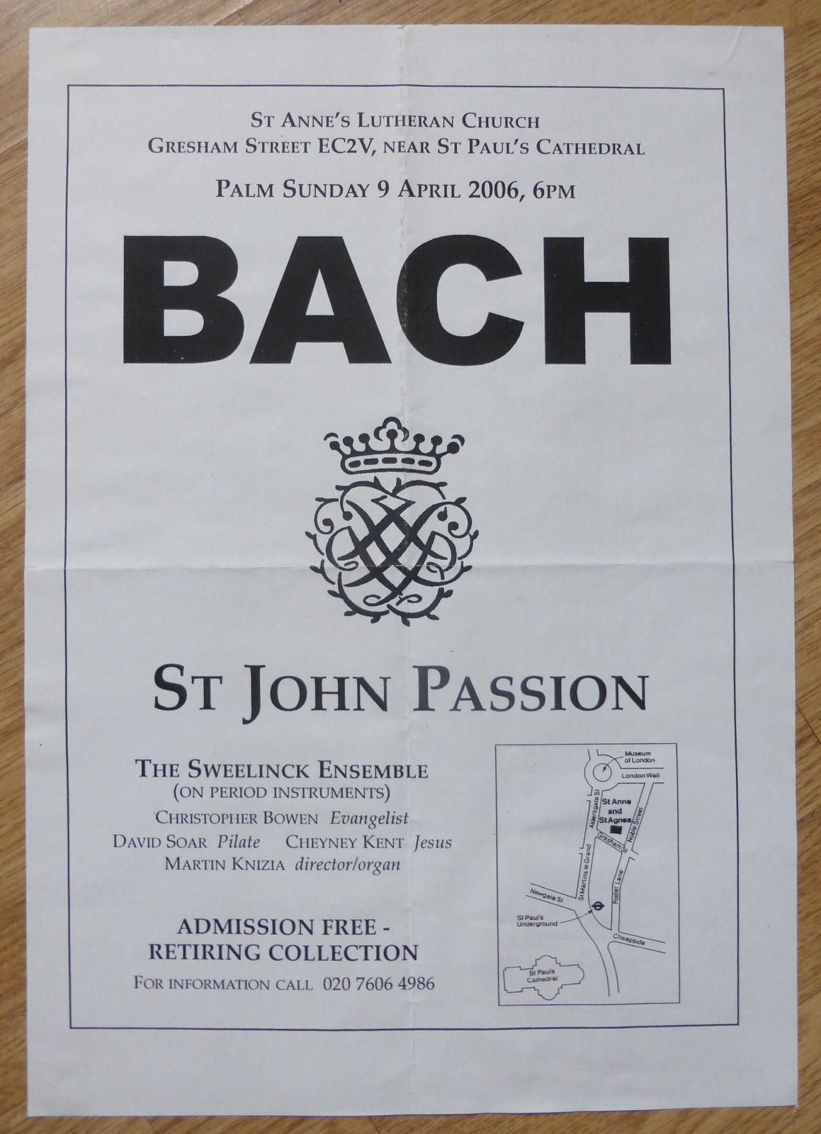 john passion 2006